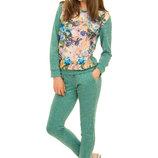 Стильный весенне-осенний костюм для девочки 128-146р