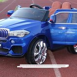 Джип BMW M 3102 MP4 EBLRS-4, автопокраска синий , кожаное сиденье