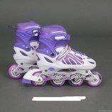 Ролики раздвижные Best Rollers колёса PVC 2003 L 38-41 . 4 расцветки.