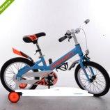 Велосипед двухколёсный детский 16 дюймов Profi Original boy W16115. 4 расцветки.