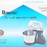 Миксер Domotec MS-1133 200W 2в1 с чашей 2,5 л
