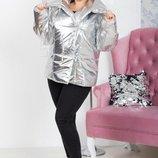 Модная теплая куртка, батал, размеры 48-50 XL-XXL , 52-54 3XL-4XL