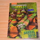 Turtles, черепашки-ниндзя, детская книга на английском языке
