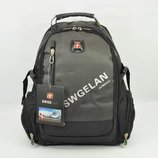 Рюкзак городской с выходом для USB, наушников хаки SwissGear 1416