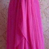 Вечернее малиновое платье 44-46