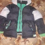 Курточка теплая 42размер