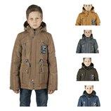Демисезонная куртка парка для мальчика 134-152 р.,17
