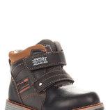 Ботинки для мальчика E6226 EEB.B черный, коричневый 22, 23, 24, 25, 26, 27 Демисезонные ботинки для