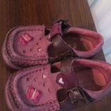 Туфли кожаные Clarks 22 р 13,5 см. туфельки босоножек