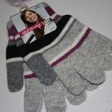 Женские шерстяные рукавицы Aura Via универсальный размер