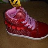 Демисезонные ботинки 20,21,25 р Clibee на девочку, осенние, весенние, осінь, клиби, ботінки, демі