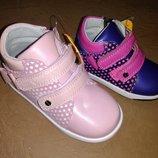 Демисезонные ботинки 20-25 р Clibee на девочку, осенние, весенние, осінь, клиби, ботінки, демісезон