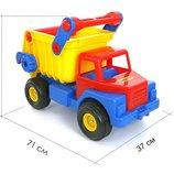 Автомобиль-Самосвал 1 с резиновыми колёсами