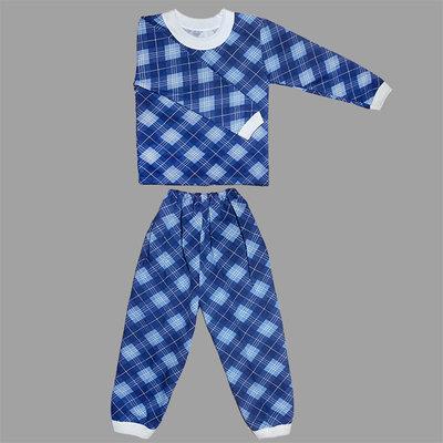 нові от 1- 10 лет для мальчик байковая теплая тепла байка синя голуба для хлопчика до 10 років