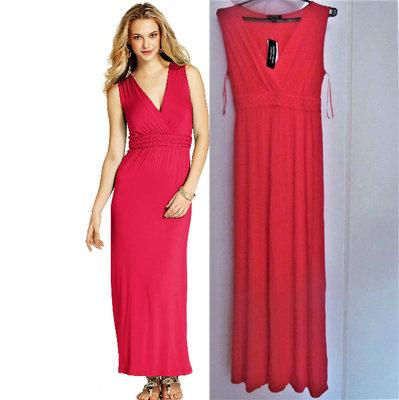 0cd94c427c0 Платье макси spense с v-образным вырезом на запах и декором косички ...