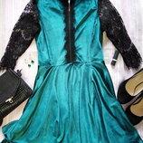 Продам изумрудное платье