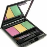 Трехцветные тени Shiseido Luminizing Satin Eye Color Trio тон YE406 Tropicalia