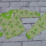Пижама детская кулир,хлопок на рост 65-72 см р.26