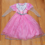Новогоднее платье для девочки 7-8 лет, 122-128 см