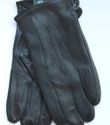 Мужские перчатки, натур. кожа