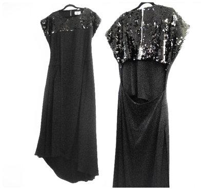 375dab01bba632c Коктейльное платье А-Силуэт с вырезом на спине и эффектной юбкой с  разрезами м-