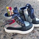 Сникерсы, демисезонные ботинки J&G