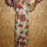 44 Eur. Макси платье - сарафан Next. Большой размер Длина платья по спинке - 144,5 см., пог максимал