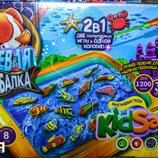 Кинетический песок Клевая рыбалка, 2в1,Danko toys