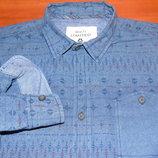 Шикарная рубашка с узором - S - M