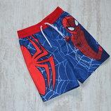 Летние шорты Человек паук на 1,5-2 года
