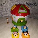 Развивающая игрушка Clementoni сортер-домик Disney