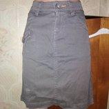 Женская юбка джинс Б/у