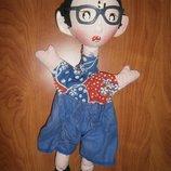 Кукла на руку кукольный театр перчатка перчаточная кукла советскя Ссср
