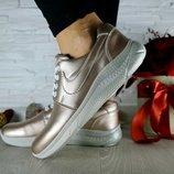 Кроссовки Nike, кожаные, р. 36-39, код gavk-10662