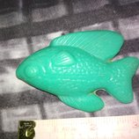 Цена за 4.Коллекционная винтажная игрушка кукла ссср рыбка рыба винтаж