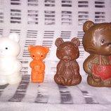Цена за 4.Коллекционная винтажная игрушка кукла ссср мишка ведмедь винтаж