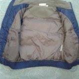 жилет жилетка для мальчика теплая синяя