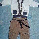 комплект костюм полувер штаны на котоновой подкладке