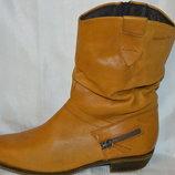 Ботинки черевики шкіра Tamaris розмір 40, ботинки кожа