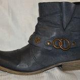 Ботинки від Rieker овеча шерсть розмір 40, ботинки