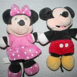 Микки и Минни Маус мягкие игрушки