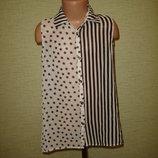 Оригинальная шифоновая блузка на 10-11 лет от Y.d.