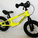 Детские беговелы велобеги BRN B-2 на 12, 14, 16 д на надувных колесах