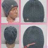 Стильная двойная шапка Марго 070, недорого от производителя
