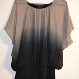 Стильная блуза, омбре, градиент размер м- л