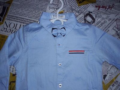 Цена ниже только сегодня и завтра Нарядная рубашка для мальчика 1-5 лет