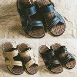 Сандалии, шлепанцы Bonis, кожаные, р. 39-45, код gavk-10670