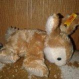 Игрушка зайка кролик зайчик Steiff оригенал Гдр Германия