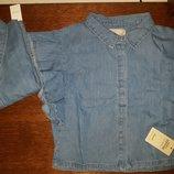 Джинсовая блуза-топ Primark на девочку