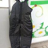 Зимний комбинезон/полукомбинезон. Лыжные штаны 116-134р